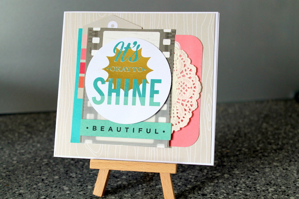 It's OK To Shine Card