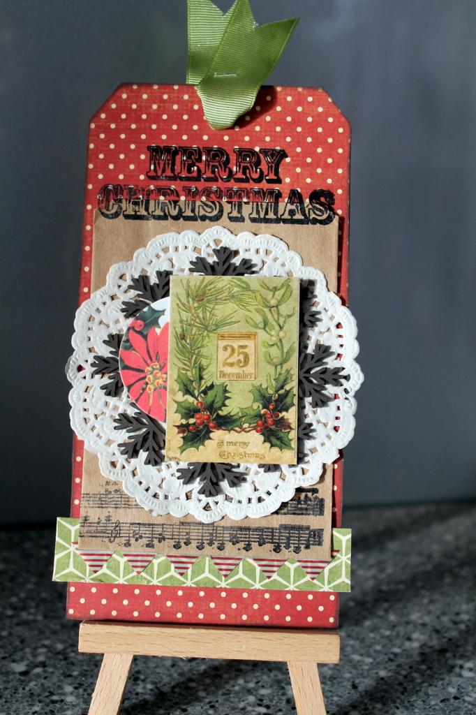 Vintage Christmas Tag