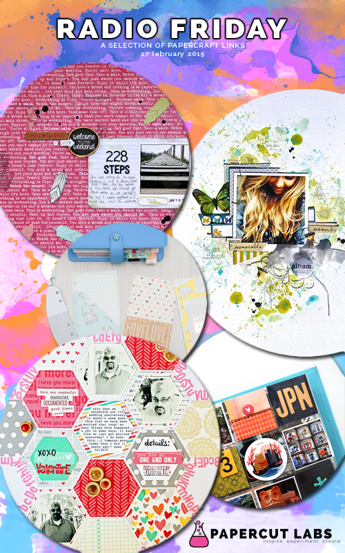 Radio Friday (27 February 2015): bright layouts and mesmerising mini-albums