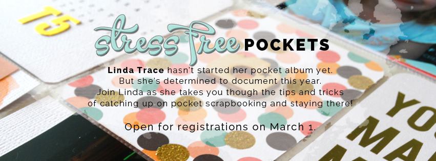 Sign up to STRESS FREE POCKETS on March 1.